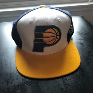 Indiana Pacers Snap Back (Worn once!)